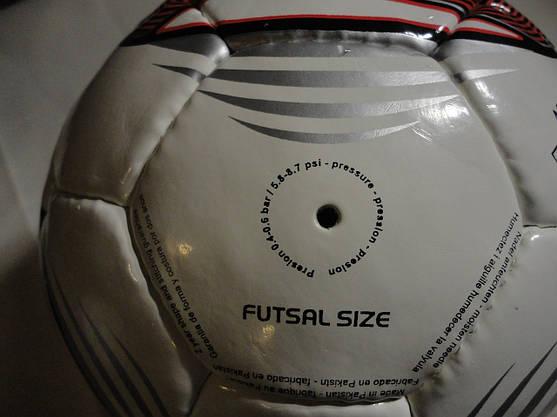 Мяч футзальный мини-футбольный №4 SALA ламин. низкий отскок, фото 3