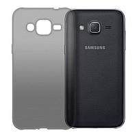Чехол GlobalCase (TPU) Extra Slim для Samsung J200 (Dark) (1283126468926)