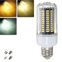 E27 E14 e12e E17 B22 15w 130 СМД 5736 LED чистый белый теплый белый крышка AC85-265V кукуруза лампа