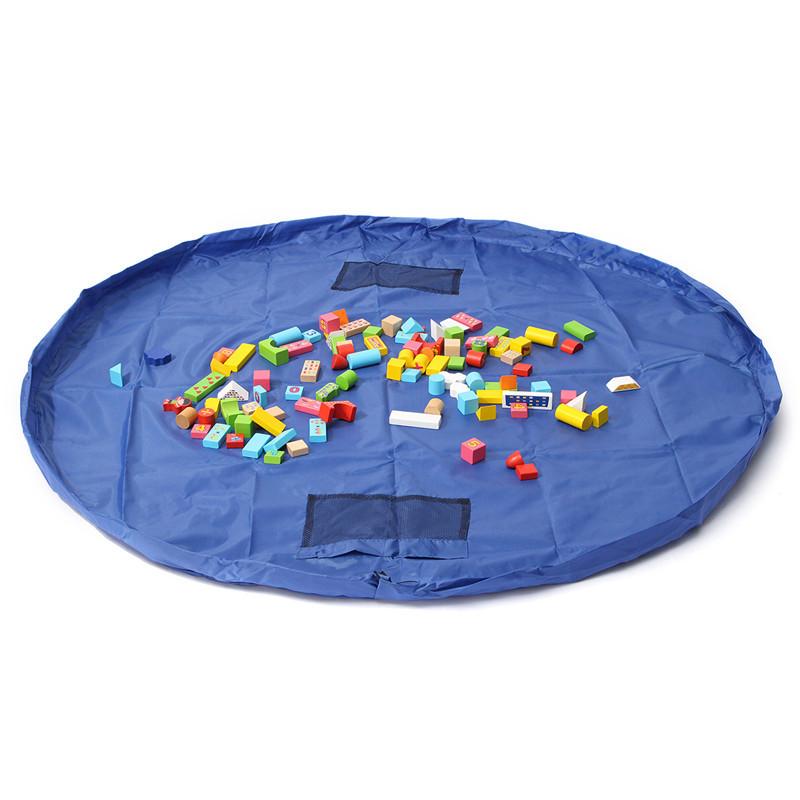 1.5м большой портативный сумка для хранения игрушек малышей детская комната прибрать игрушки мешок ковер ковер - ➊TopShop ➠ Товары из Китая с бесплатной доставкой в Украину! в Днепре