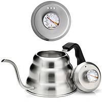 Чайник Barista Warrior с термометром для заваривания кофе (1 л), фото 1