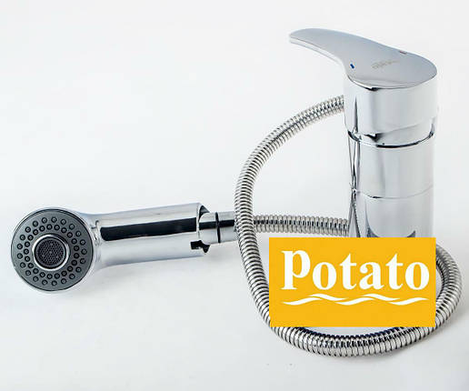 Смеситель для кухни POTATO P6008, фото 2