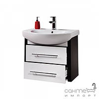 Мебель для ванных комнат и зеркала Colombo Подвесная тумба под раковину Colombo Лотос D70 F14037002 65x54