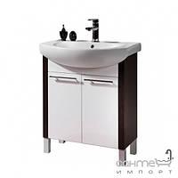 Мебель для ванных комнат и зеркала Colombo Напольная тумба под раковину Colombo Лотос D70 F14017002 65x85