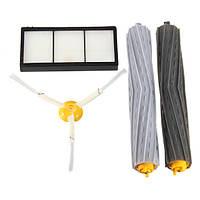 4шт экстрактор щетка и набор фильтров для IRobot Roomba 800 серии 870 880 Очиститель