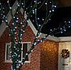 Светодиодная нить 10м, Белая,100 LED уличная