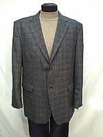 Пиджак мужской шерстянной в клетку 56,58 разм.