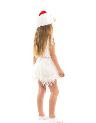 """Детский карнавальный меховой костюм """"Курочка"""" для девочки, фото 2"""