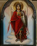 Икона писаная Архистратига Михаила №1, фото 3