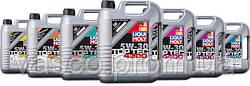 Линейка моторных масел LIQUI MOLY Top Tec