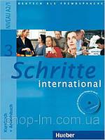 Schritte International 3 Kursbuch + Arbeitsbuch. Hueber