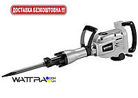 Отбойный молоток FORTE HEX - DH 1745 AVC (HEX 30, 1700Вт, 45Дж, 17кг)  электрический молоток отбойный