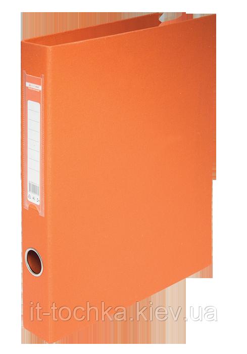 Папка регистратор на 2-х кольцах А4 buromax bm.3101-11 оранжевая ширина торца 40мм