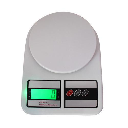 Весы кухонные с подсветкой 10кг точность 1гр SF-400 цифровые