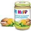 Пюре HiPP Картофель и спаржевая фасоль с кроликом, 220 г