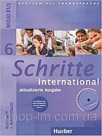 Schritte International 6 Kursbuch + Arbeitsbuch. Hueber