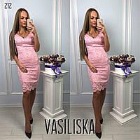 Нарядное вечернее гипюровое платье ан-11741-4
