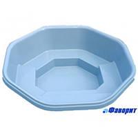 """Стеклопластиковый (стекловолоконный) бассейн """"КАЛИПСО-2"""" Диаметр - 2,65м /глубина - 0,80м"""