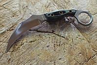 Нож керамбит Коготь тигра, из качественной рукояти Микарта