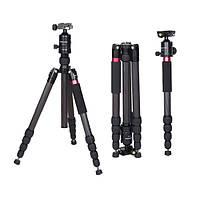 Алюминий расширяемой фотографии штатив с 360 градусов поворотной головкой для жидкости FCS285+BT36 DSLR камеры Pentax Sony Olympus Canon cambofoto