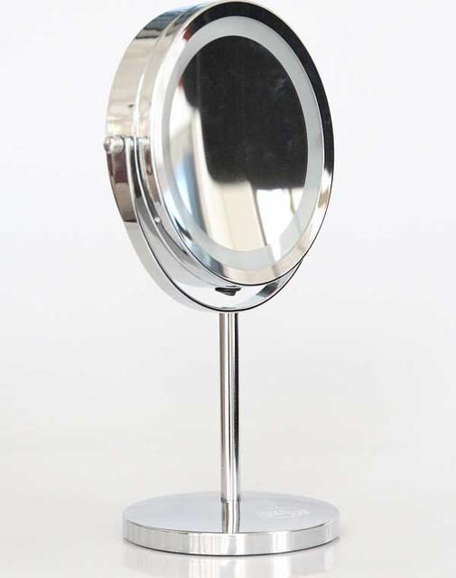 """Косметическое зеркало для макияжа с увеличением и подсветкой """" LED-SPIEGEL Germany"""""""