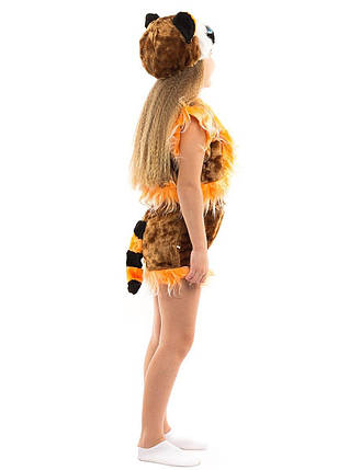 """Детский карнавальный меховой костюм """"Крошка-Енот"""" унисекс, фото 2"""