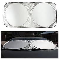 190x90cm Nylon Складывающееся переднее окно Солнцезащитный козырек Блокировка ветрового стекла для Авто Грузовик