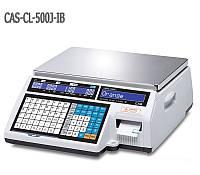 Весы торговые CAS CL5000J-IB до 15 кг с печатью этикетки