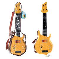 Гитара 250 А-3 (48шт) струны 4шт, медиатор, в чехле, 49-16-3,5см