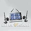 Комплект беспроводного видеонаблюдения с 2-мя камерами KIT-FHD122
