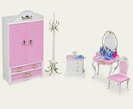 Меблі для ляльок Gloria Гардеробна