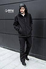 Soft Shell костюм черный MAW-TAC, фото 3