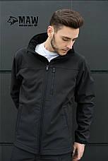 Soft Shell костюм черный MAW-TAC, фото 2