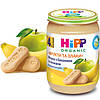 Пюре HiPP Яблоки с бананами и печеньем «Фрукты и злаки», 190 г