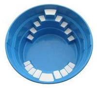 "Бассейн ""МАЛЫШ"" Диаметр - 2,8м /глубина - 1,0м. Базовый цвет - голубой."