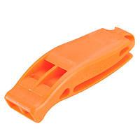 EDC пластиковые двойной частоты свисток спортивные соревнования аварийный инструмент