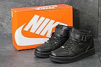 Кроссовки Nike Air Force код 3852 black