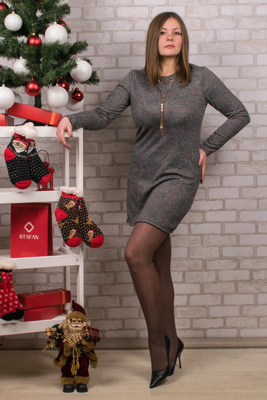 Женское теплое платье. RBOSSI P38. Размер 46-48.