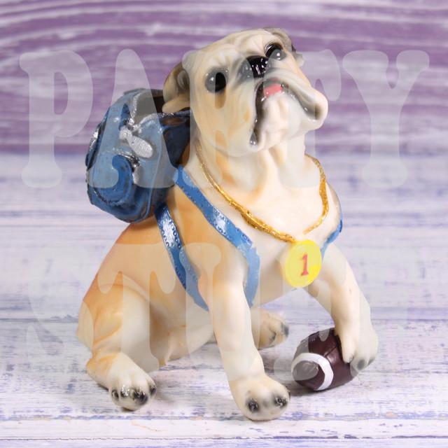 подарочная статуэтка собака бульдог