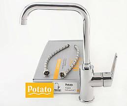 Смеситель для кухни POTATO P4009   , фото 2