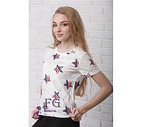 Женская футболка «Звезда»