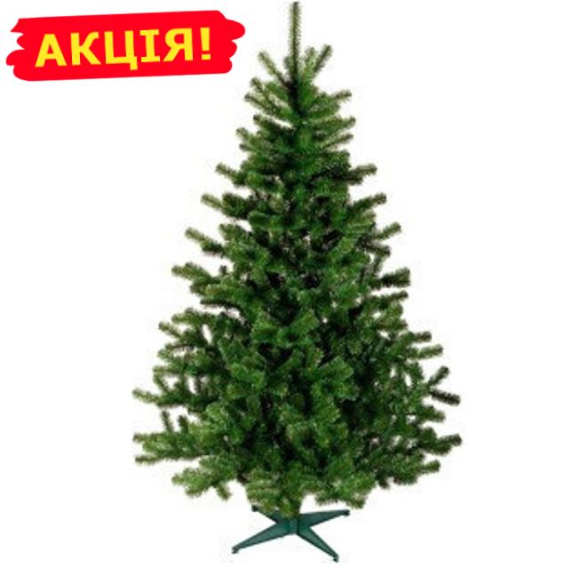 Классическая искусственная ель, зеленая 1.8 м