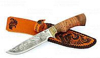 Нож с фиксированным клинком Ворсма Лорд, сталь 65х13, ручная работа