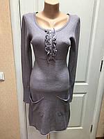 Платье трикотажное весна-осень