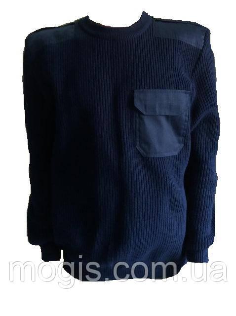 Свитер форменный синий