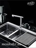 Кран Blue Water Imag inox для кухонной мойки с выдвижным душем