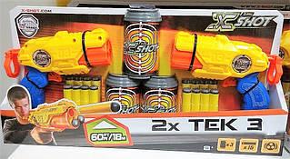 X - Shot Набор скорострельных бластеров EXCEL Combo Pack (2 вида оружия Barrel Breaker TK-3, 2 вида