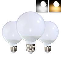 E27 8w 18 СМД 5730 LED теплый белый чистый белый шар света колбы лампы AC85-265V