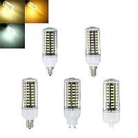 E17 e14 e12 G9 gu10 7W 72 СМД 5730 LED чистый белый теплый белый натуральный белый крышка кукуруза лампа AC85-265V