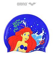 Детская (Junior) силиконовая шапочка для плавания Arena DM Silicone JR Ariel Disney